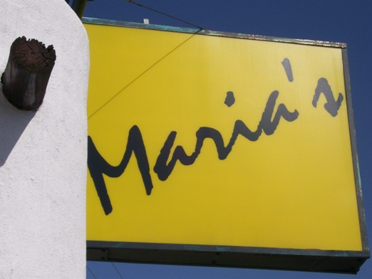 Marias_signage